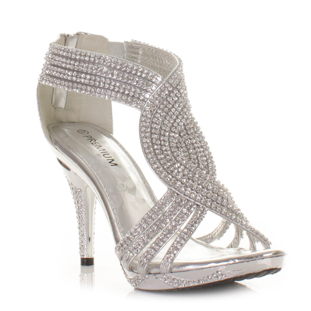 Cheap Silver High Heels For Prom - Is Heel